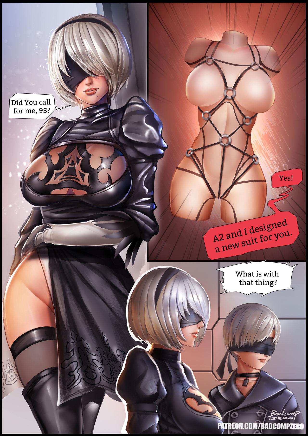 2B[SM]- NieR Automata porn comics 8 muses