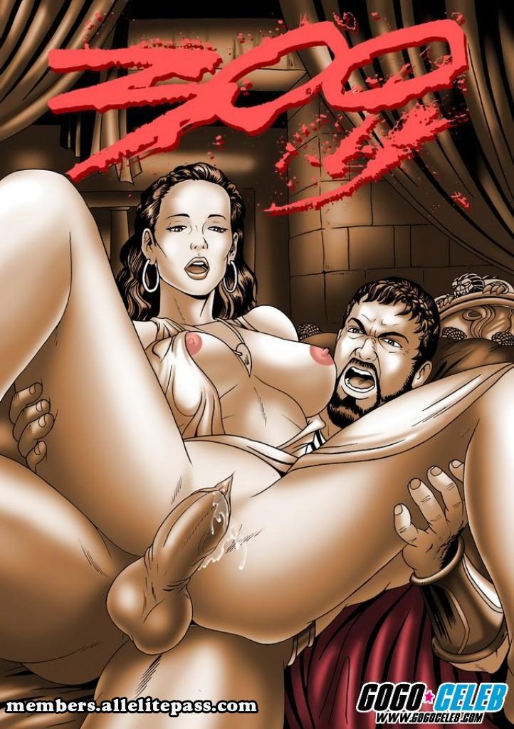 300 Spartans- GoGo Celeb porn comics 8 muses