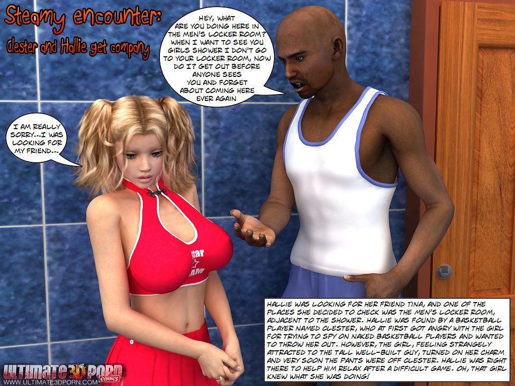 Steamy Encounter -Clester & Hallie get company porn comics 8 muses