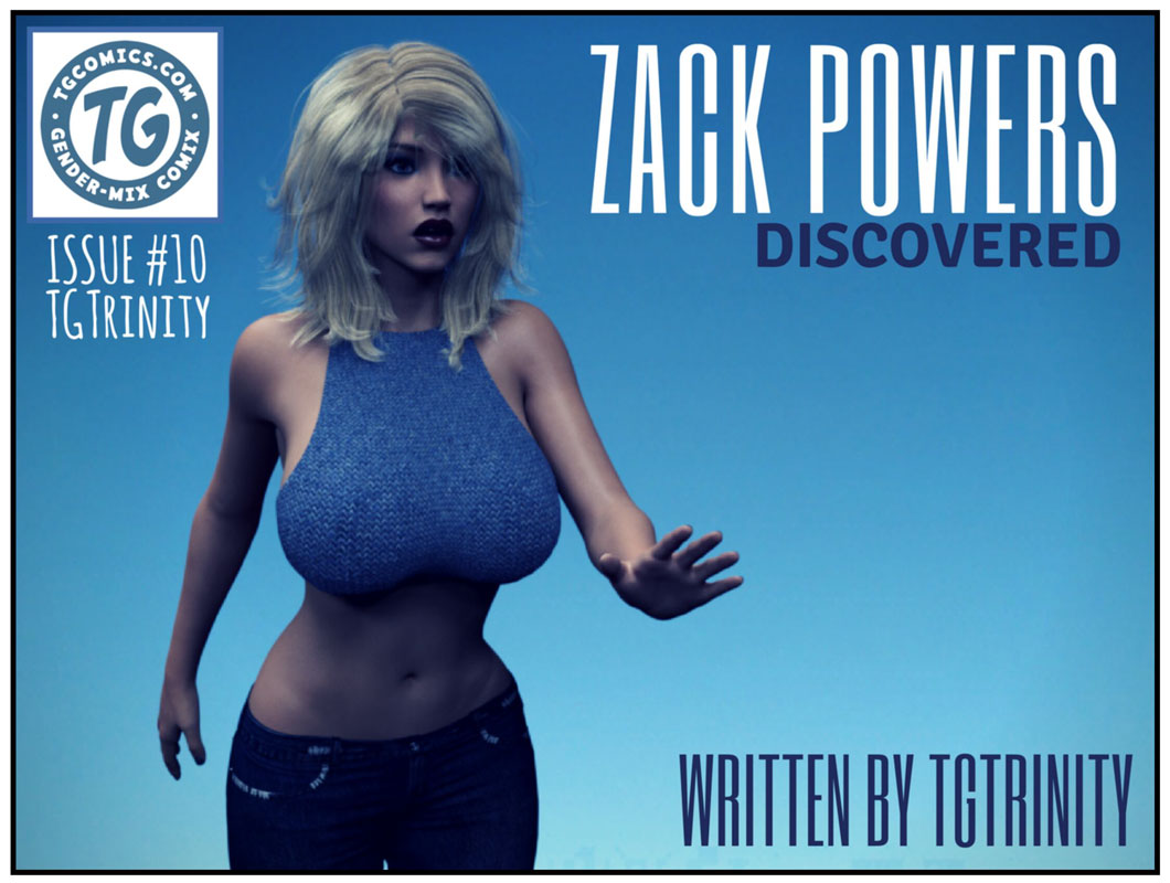 3D, Zack Powers Issue 10- TGTrinity image 1