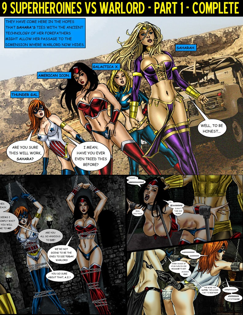 9 Superheroines vs Warlord Ch.1 porn comics 8 muses