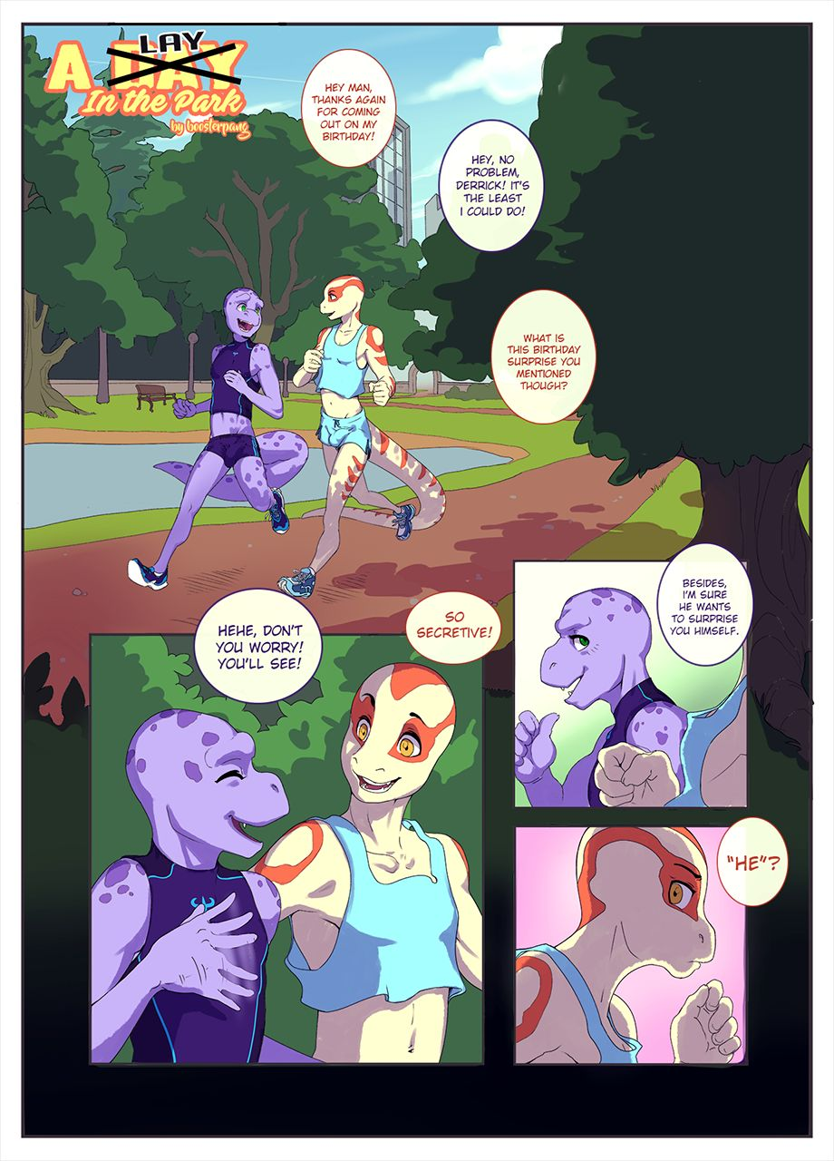 A Lay in the Park- Boosterpang porn comics 8 muses