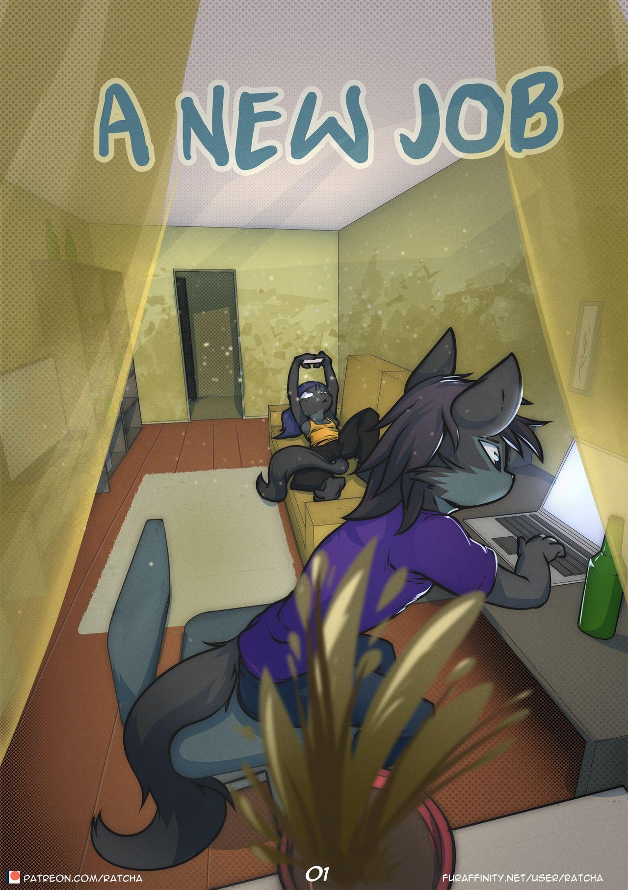 A New Job- Ratcha porn comics 8 muses