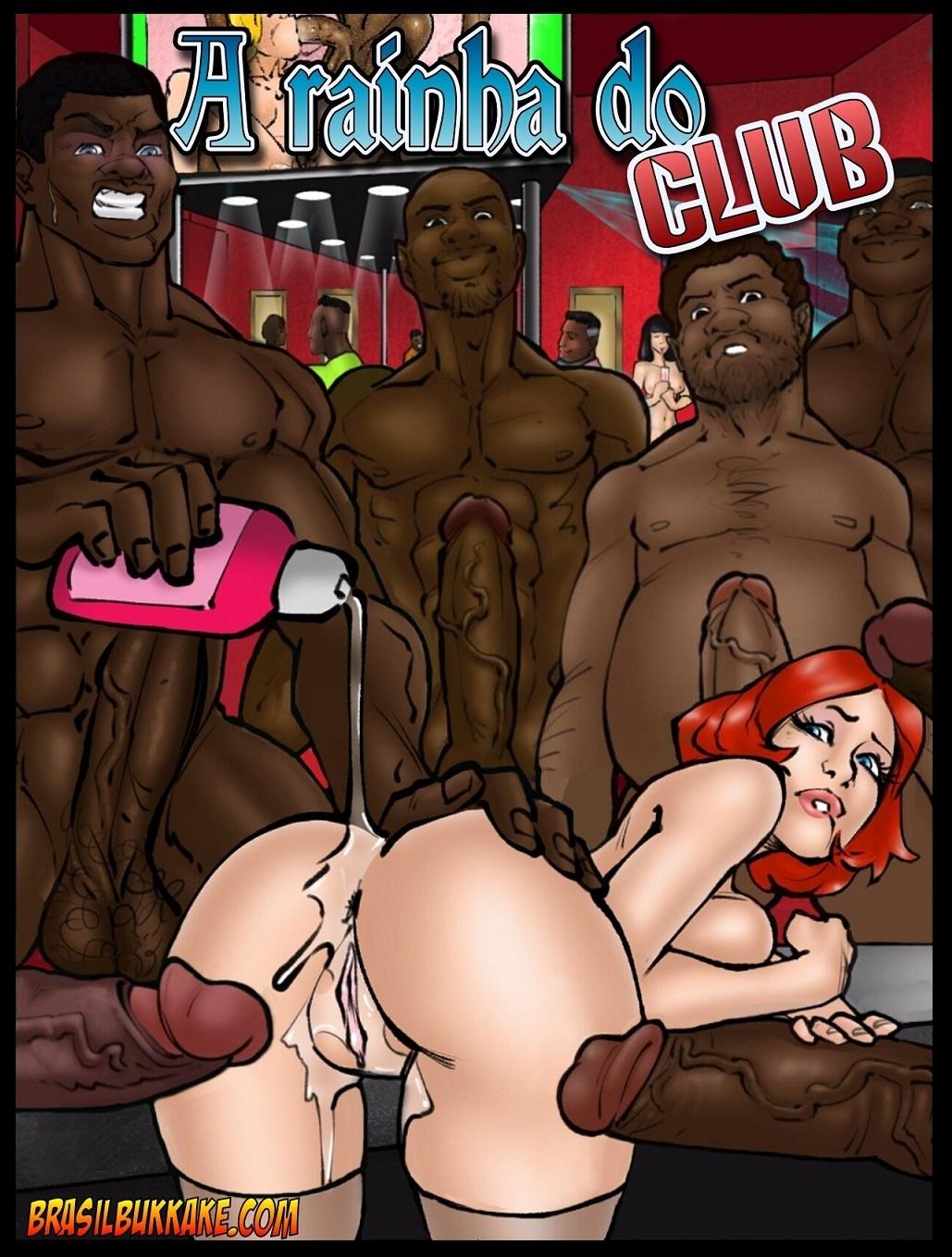 A Rainha do Club- Brasilbukkake porn comics 8 muses