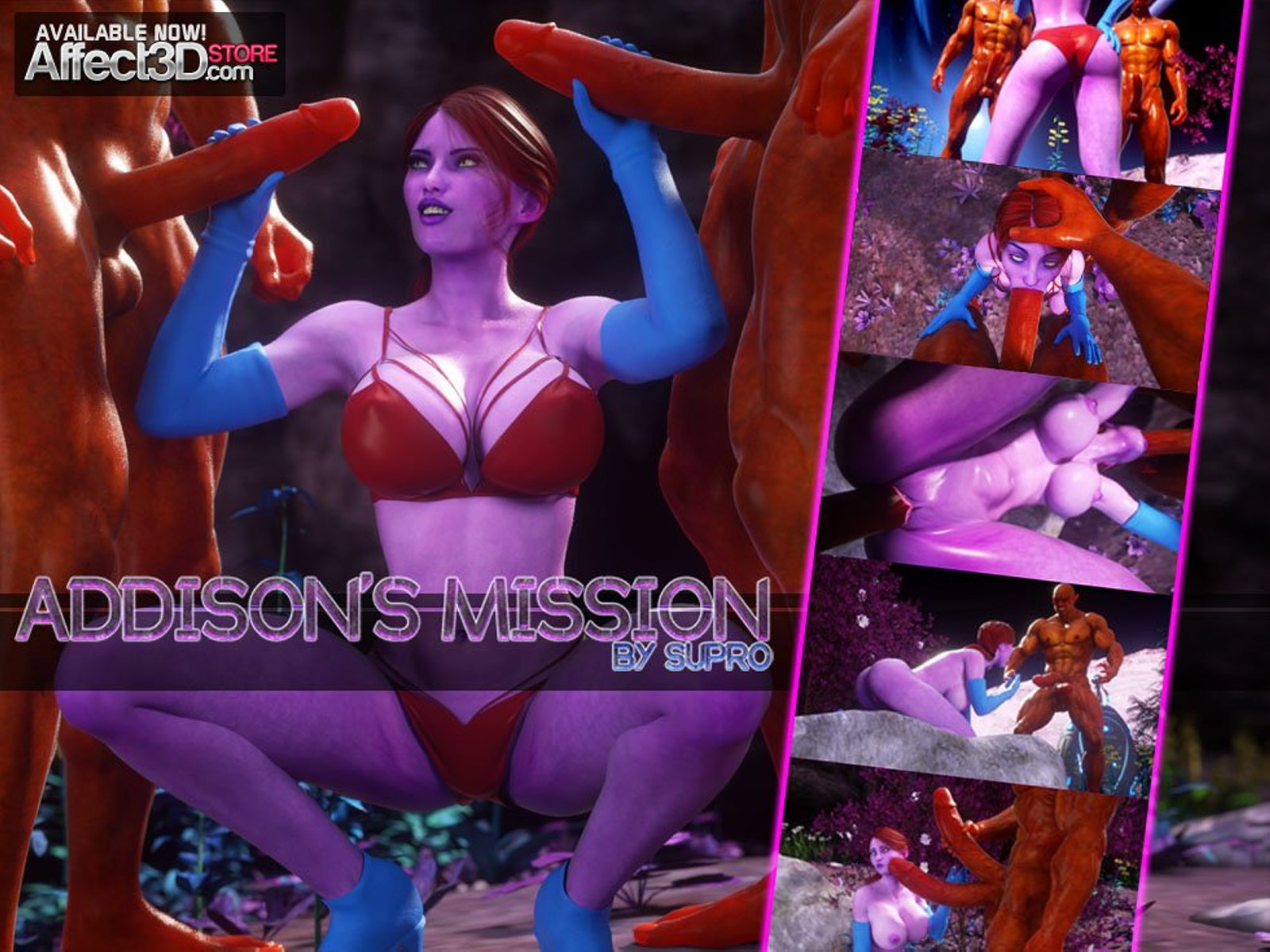 Addison's Mission- Affect3D porn comics 8 muses