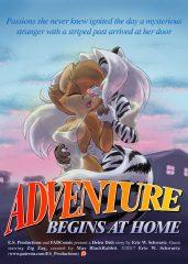 Adventure Begins at Home- Furry porn comics 8 muses