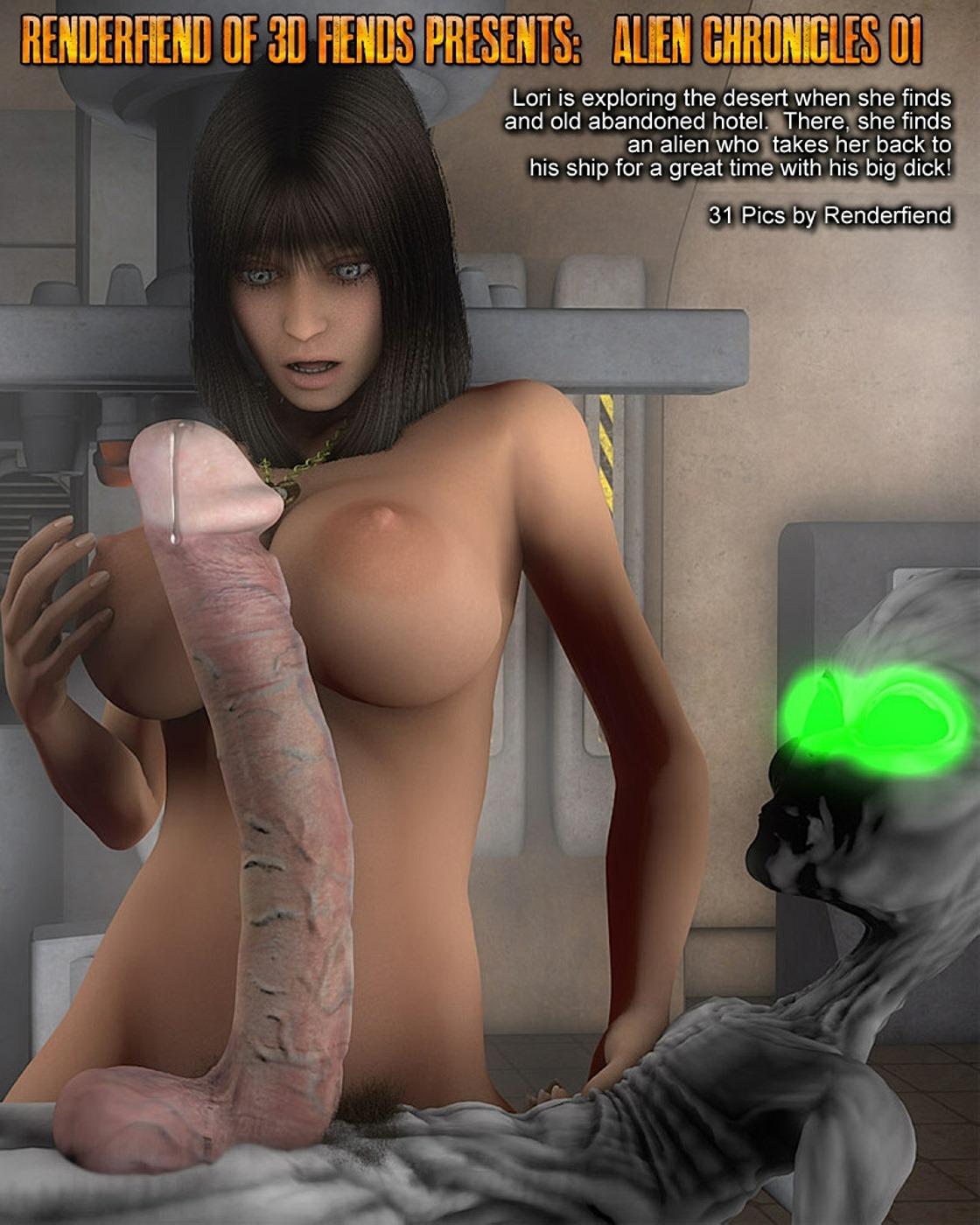 Alien Chronicles- 3DFiends porn comics 8 muses