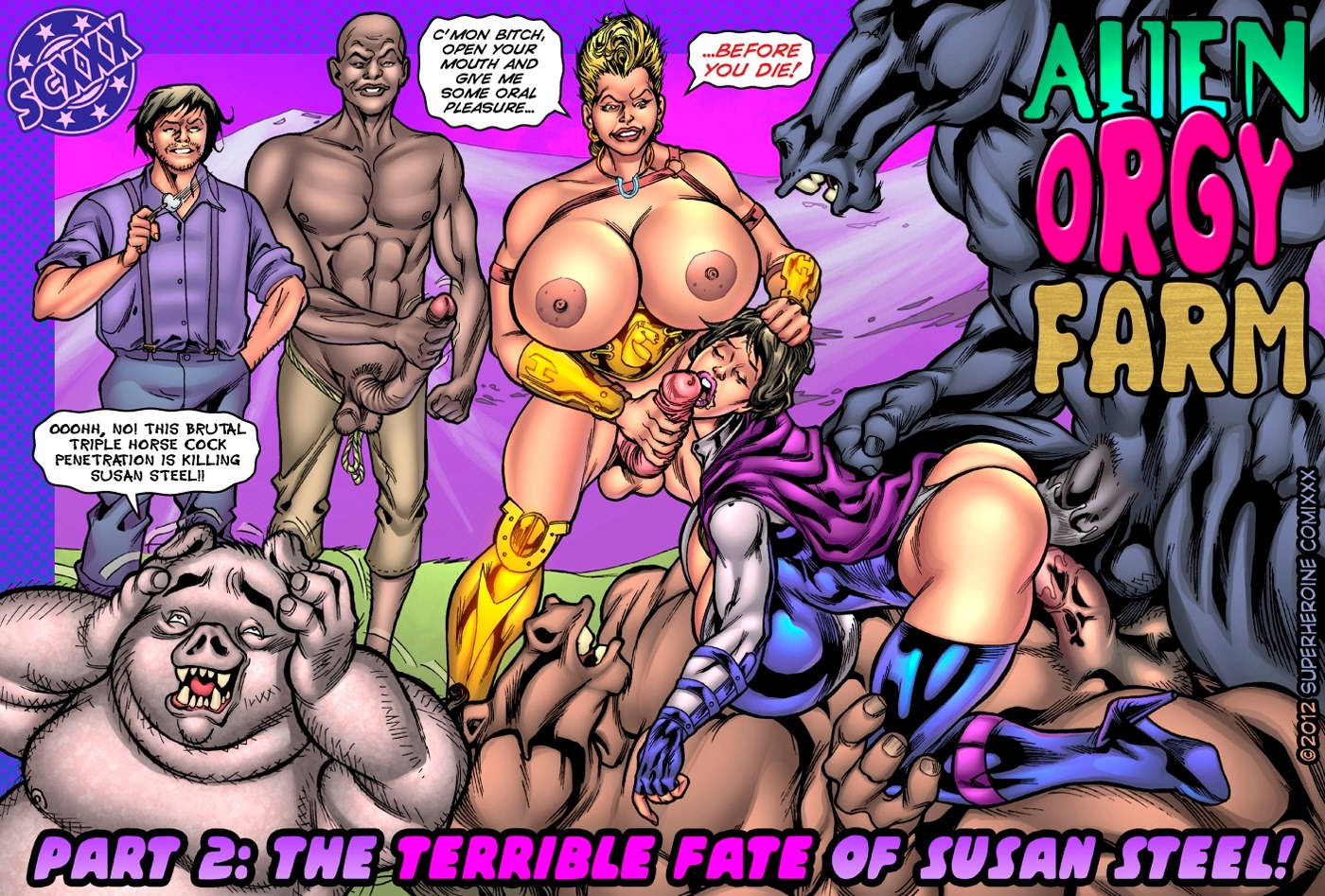 Alien Orgy Farm 2- Terrible Fate of Susan Steel porn comics 8 muses