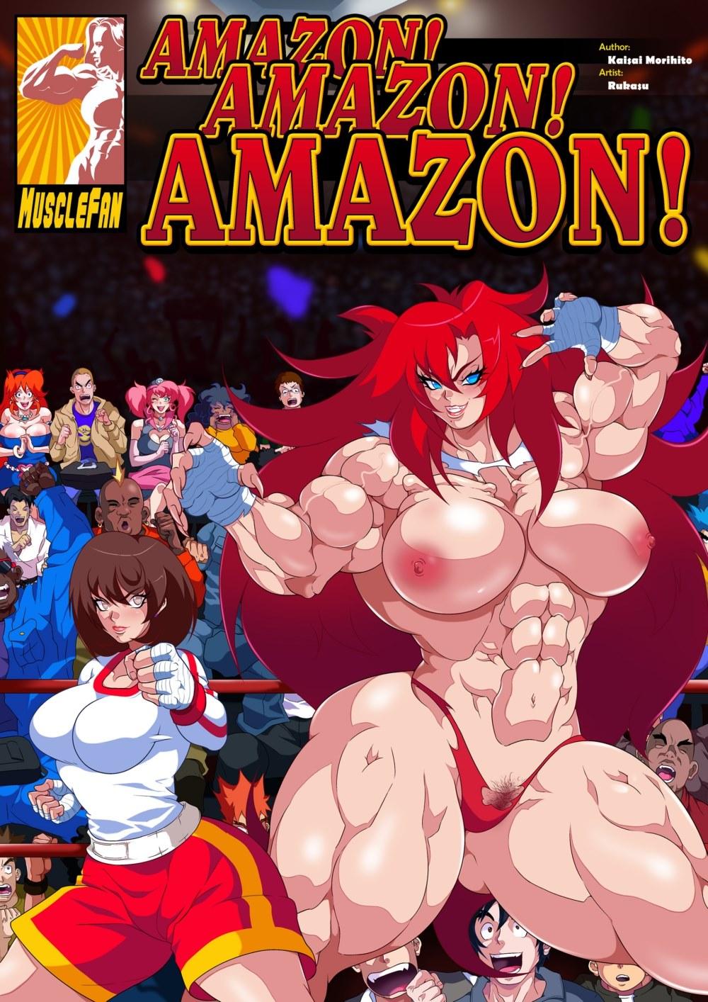 Amazon-Amazon-Amazon porn comics 8 muses