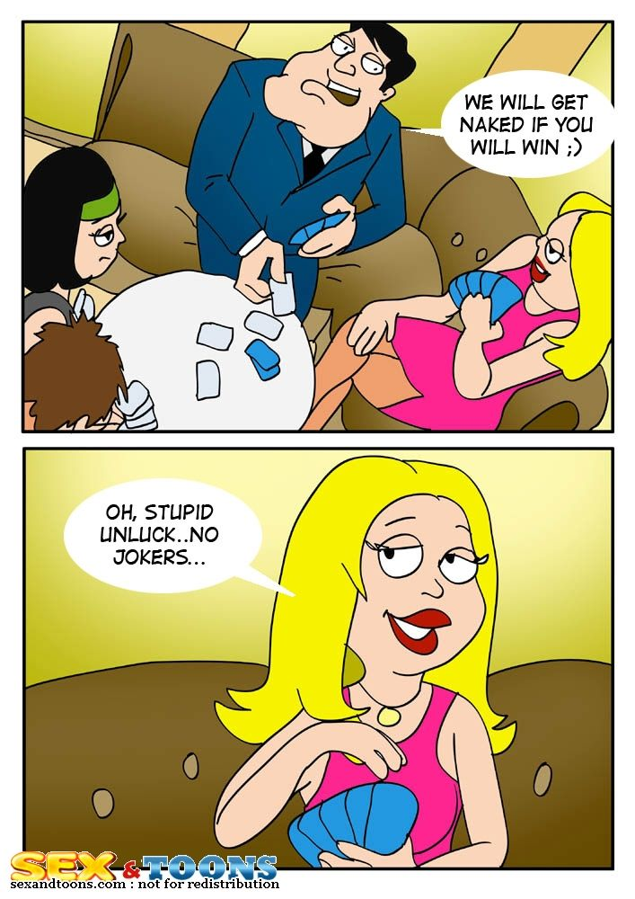 American Dad- Family play porn comics 8 muses