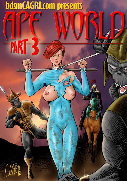 Apes World 3- bdsmCAGRI porn comics 8 muses