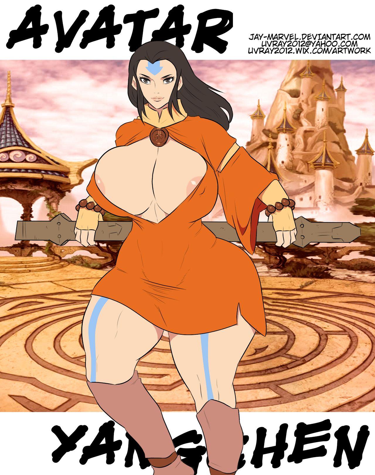 Avatar Yangchen- Jay Marvel porn comics 8 muses