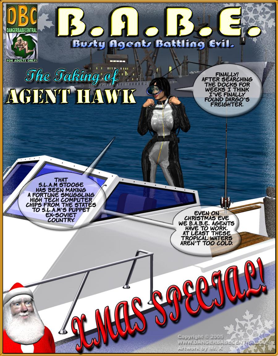 B.A.B.E.- Agent Hawk porn comics 8 muses