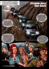 Barraza's Revenge- Fansadox Collection 84 porn comics 8 muses