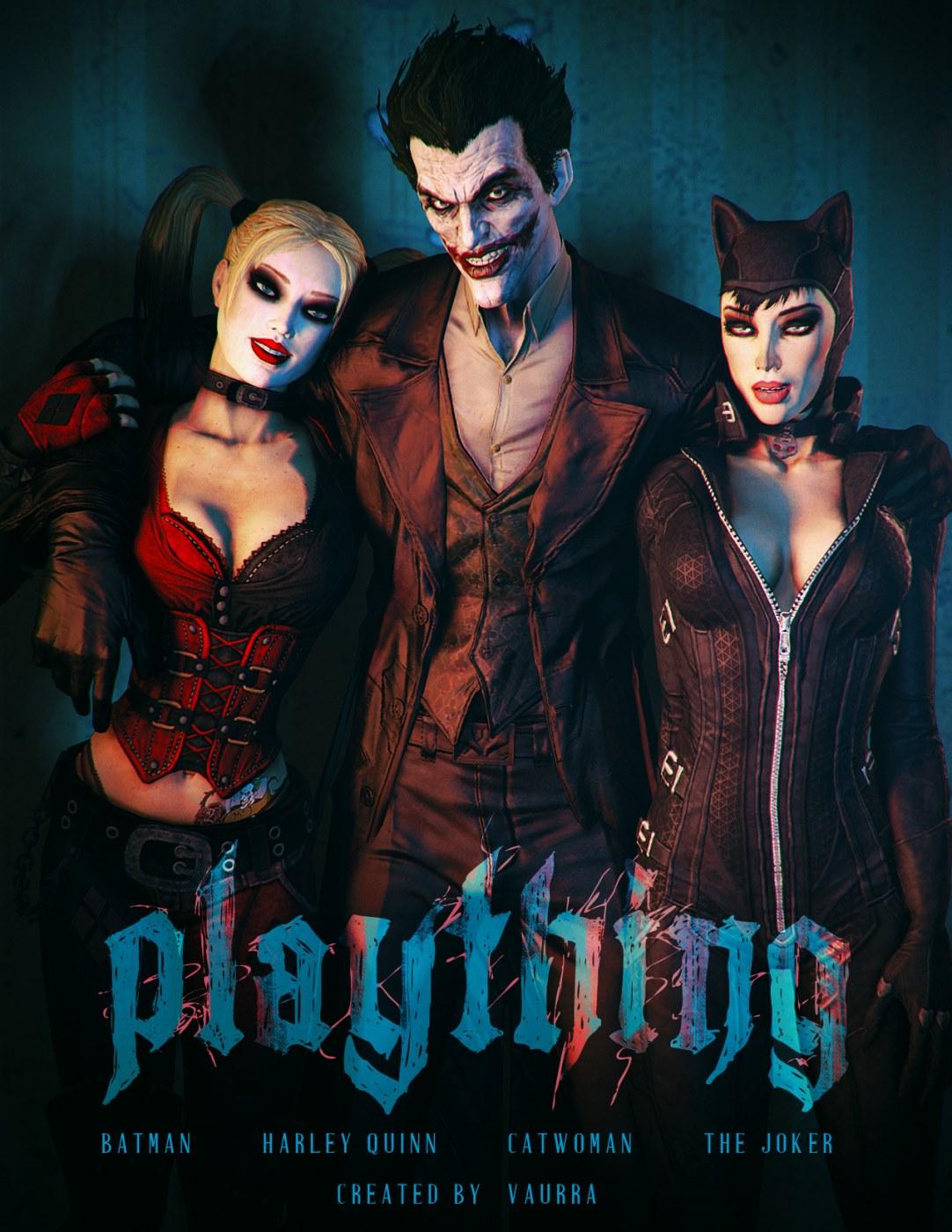 Batman & Harley Quinn- Plaything (Vaurra) porn comics 8 muses