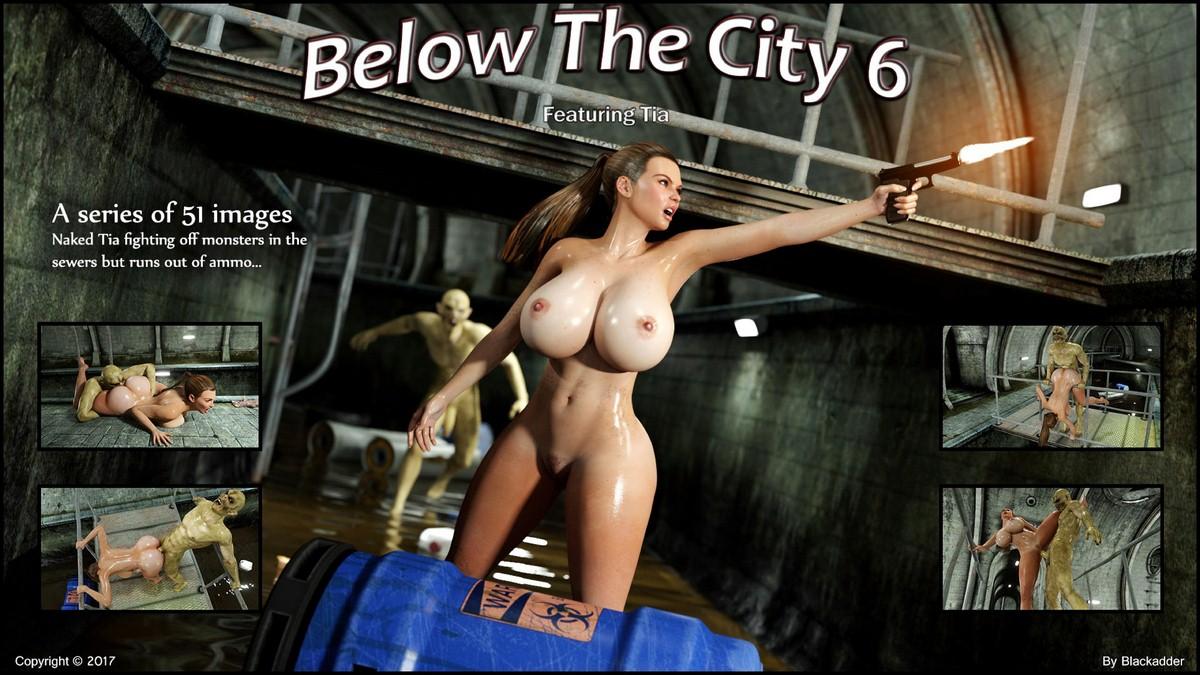 Below The City 6- Blackadder porn comics 8 muses