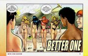 Better One- Sharing one cock porn comics 8 muses
