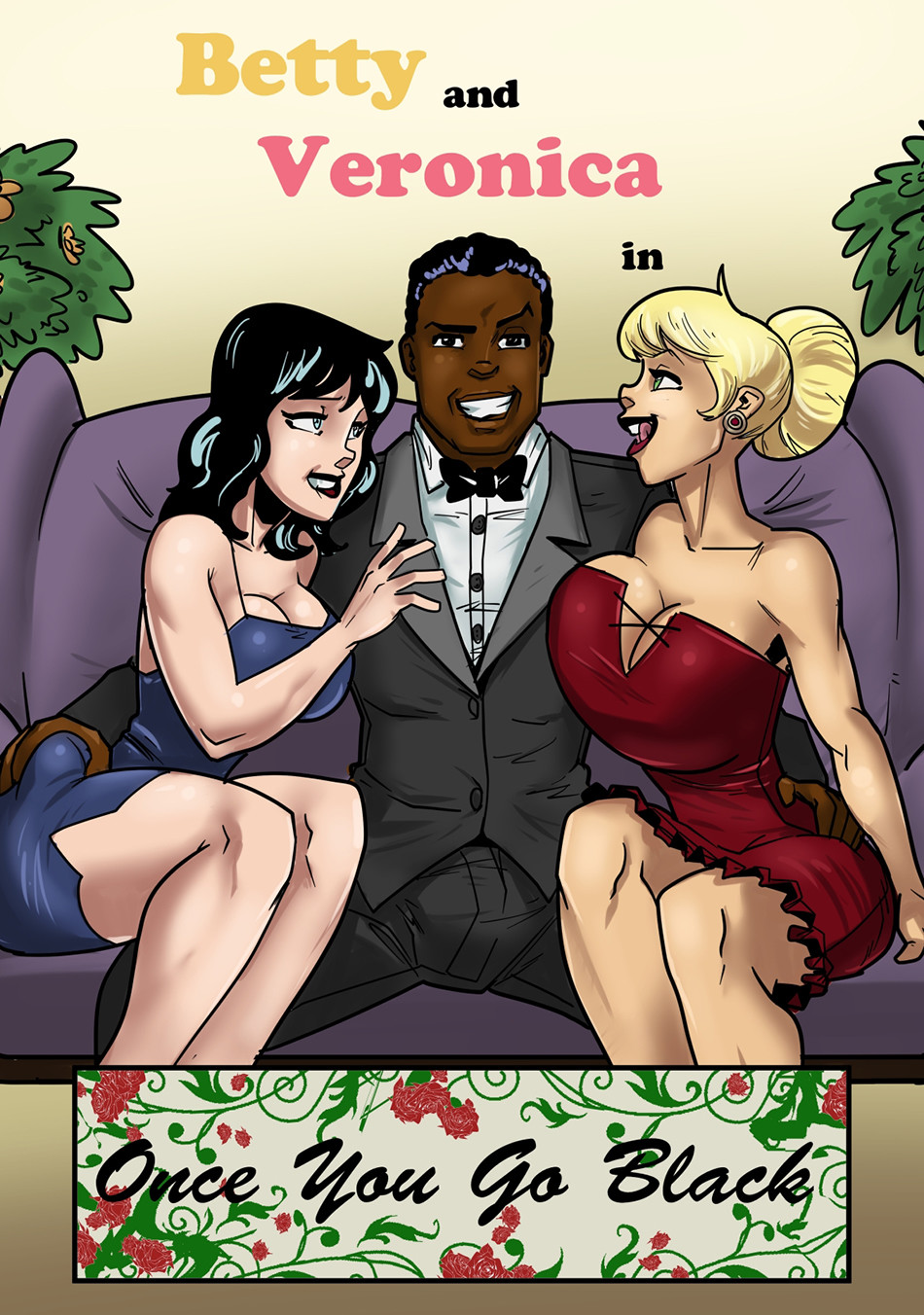 Betty and Veronica love BBC- John Persons porn comics 8 muses