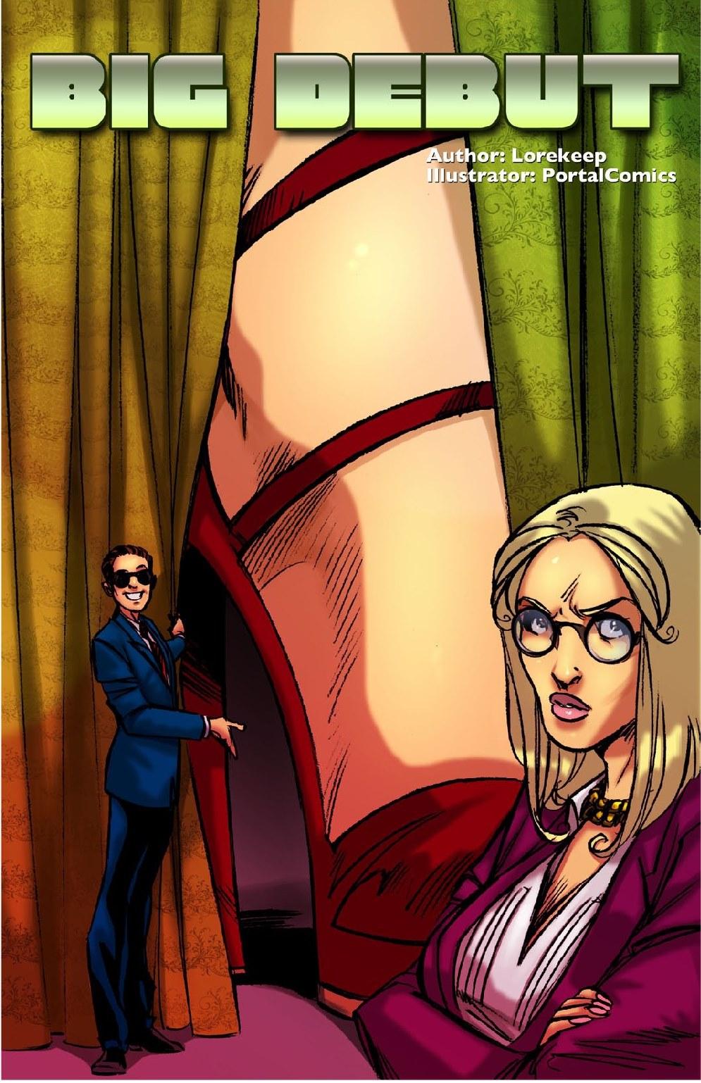 Big Debut- Giantess Club porn comics 8 muses