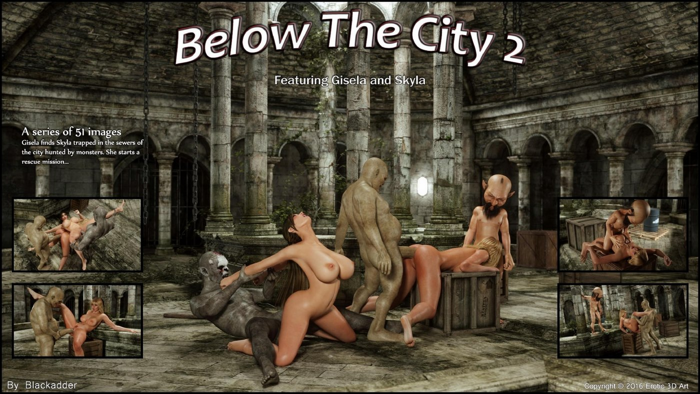 Blackadder- Below The City 2 porn comics 8 muses