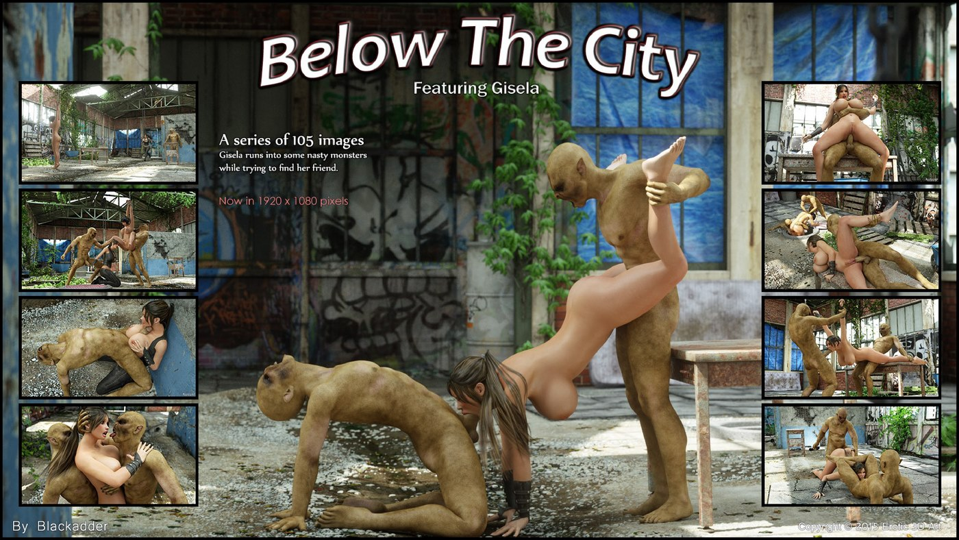 Blackadder- Below The City porn comics 8 muses