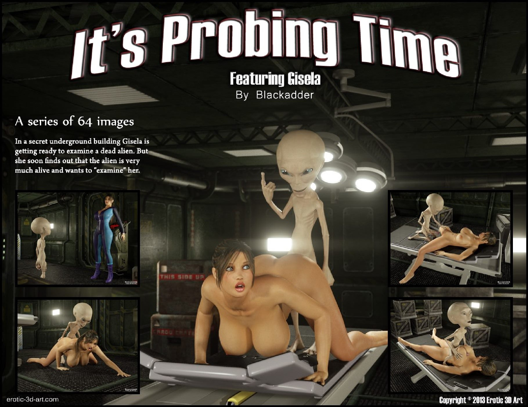 Blackadder – It's Probing Time porn comics 8 muses
