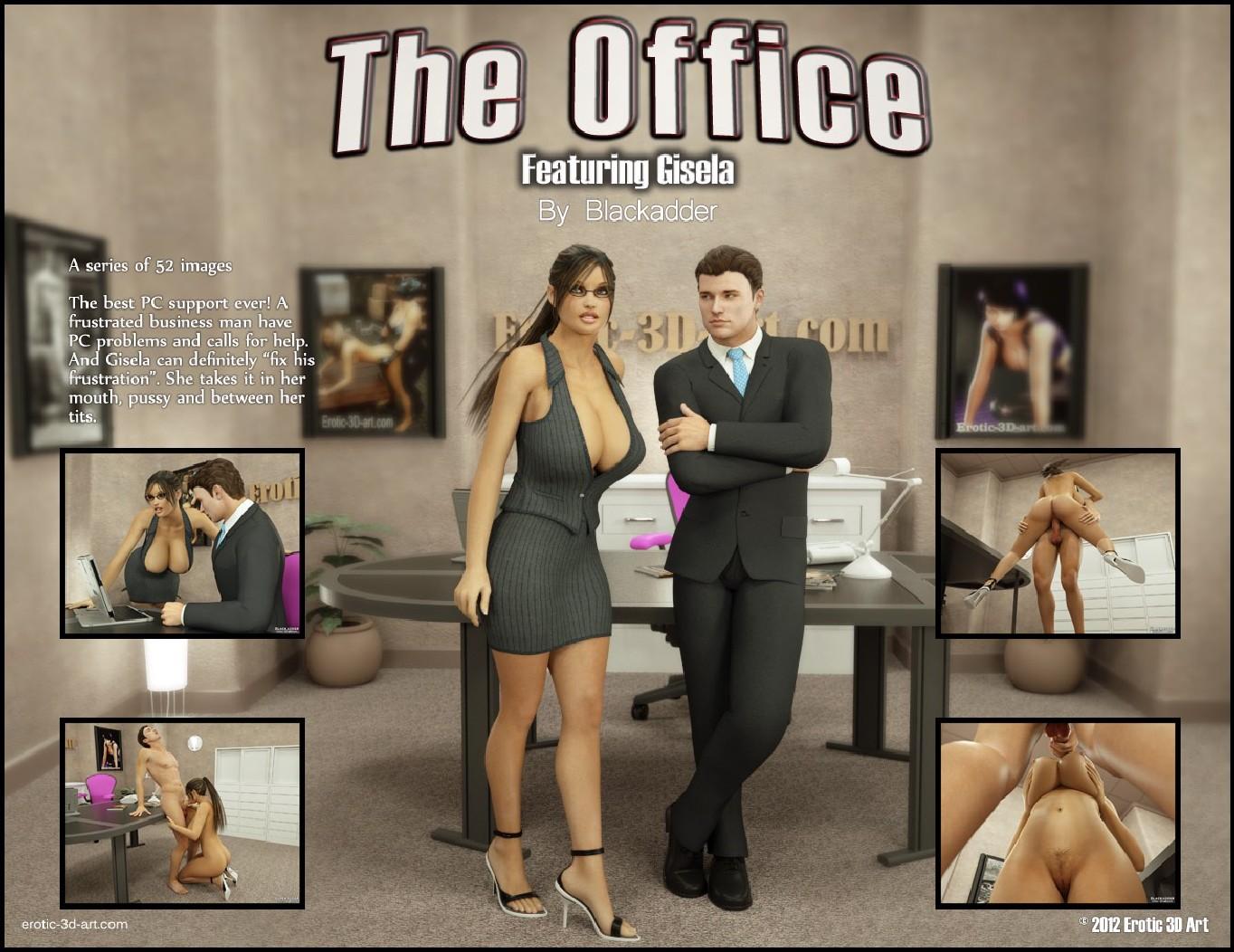 Blackadder- The Office image 1