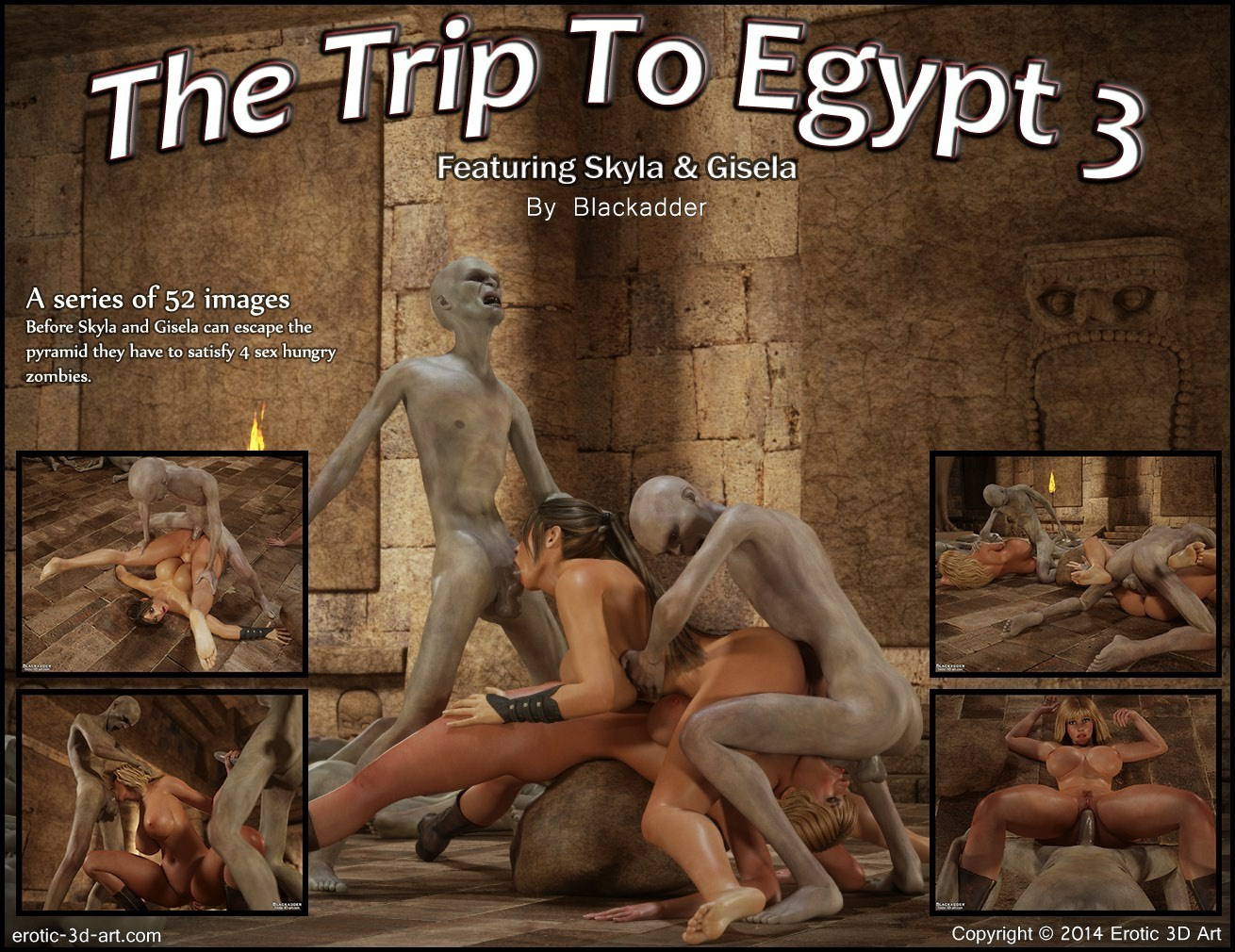Blackadder- Trip to Egypt 3 image 1