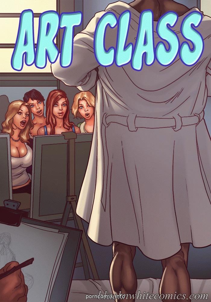 BlacknWhite- Art Class- Bnw porn comics 8 muses