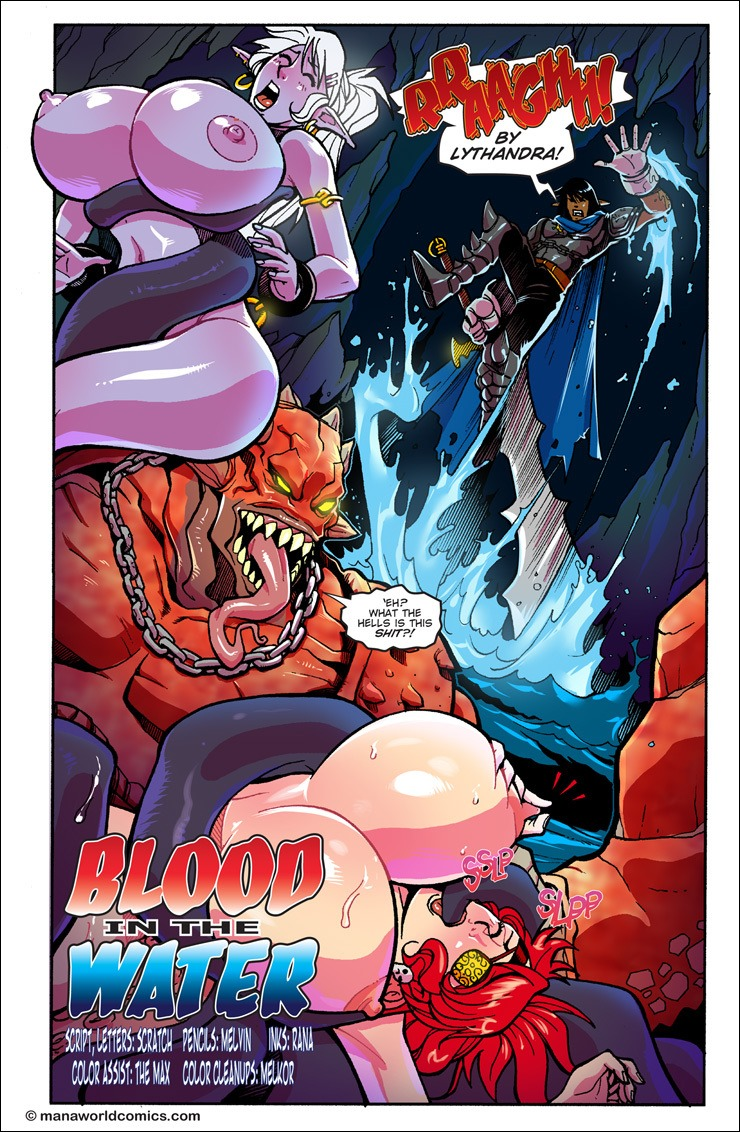 Blood in the Water- Mana World image 1