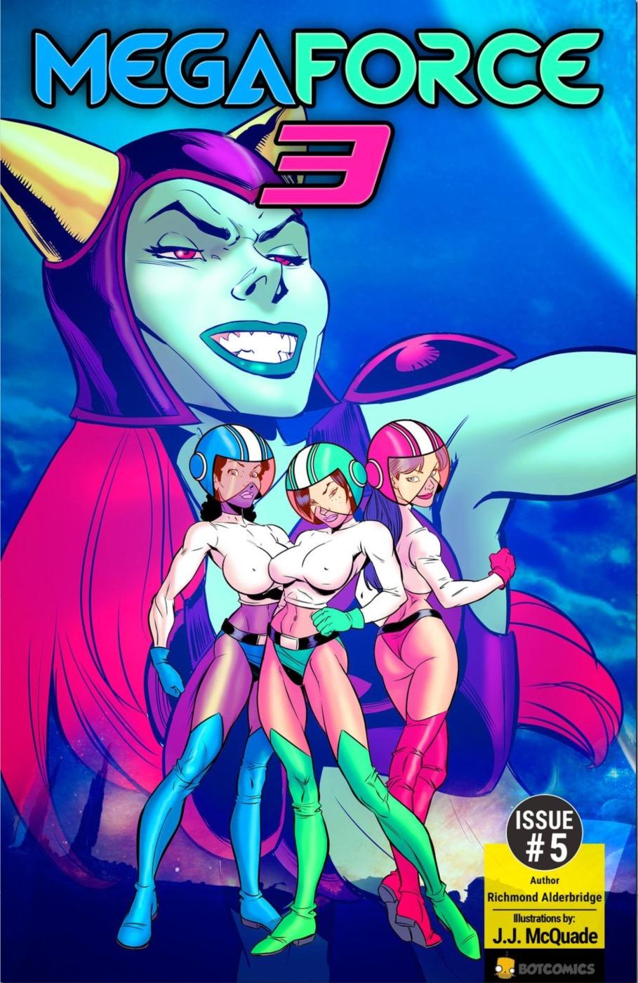Mega Force Three 5 porn comics 8 muses