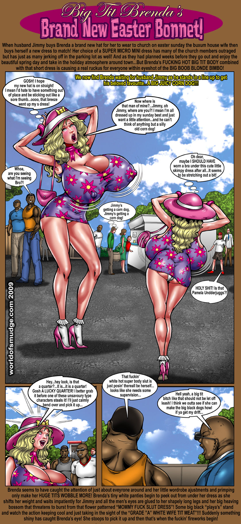 Brand New Easter Bonnet- Smudge porn comics 8 muses
