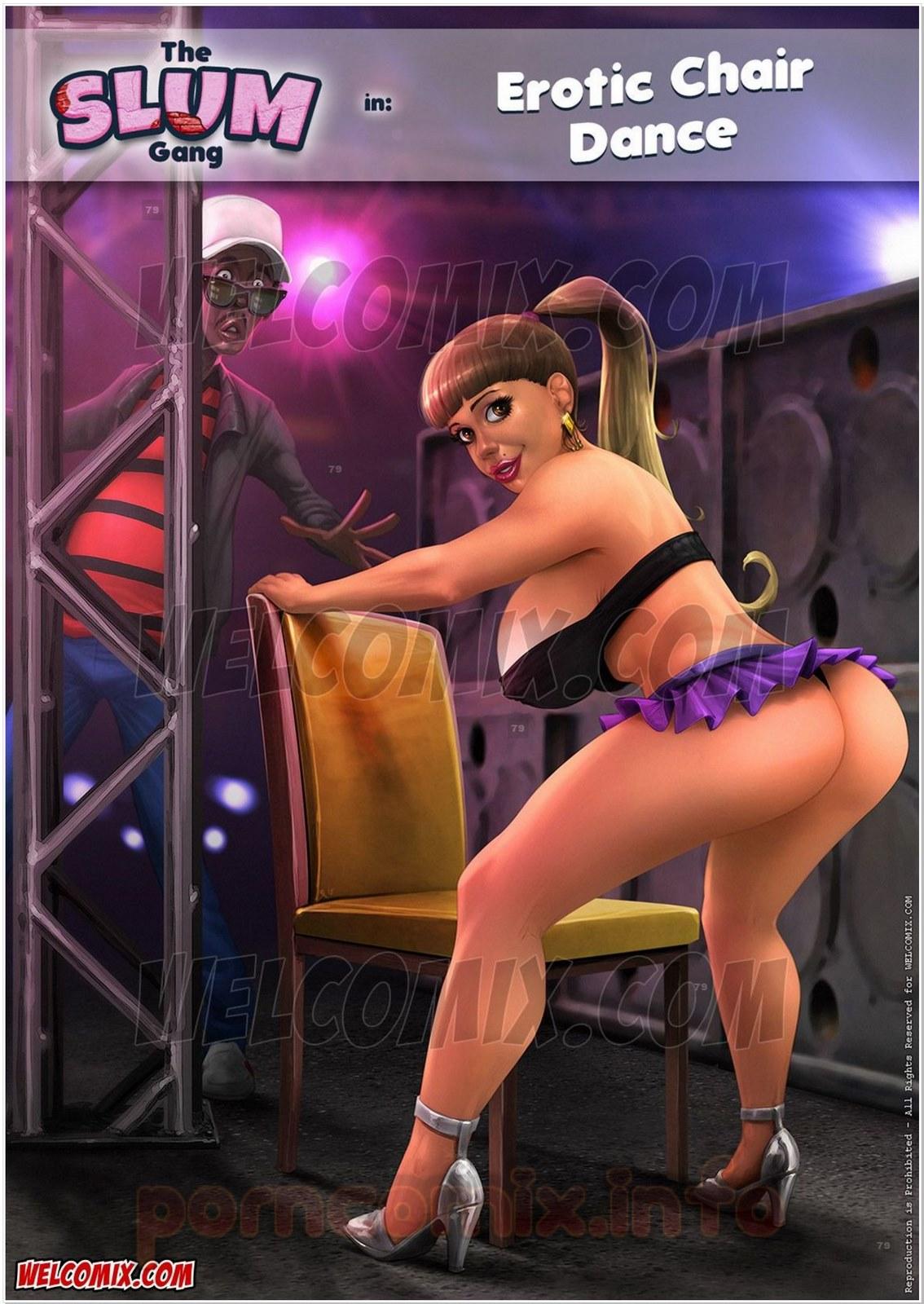 Brazilian Slumdogs- Erotic Chair Dance porn comics 8 muses