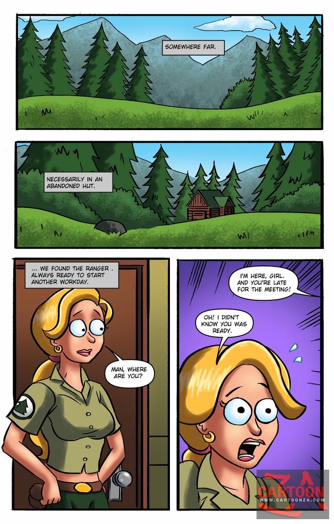 Brickleberry – The Little Secret of The Rangers image 1