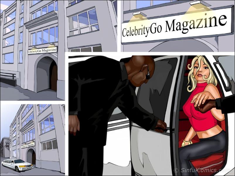 Britney's Sexy magazine shoot porn comics 8 muses