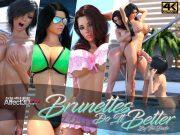 Brunettes Do It Better- Dude3DX porn comics 8 muses