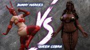 Bunny Markes Vs Queen Cobra- Squarepeg3D porn comics 8 muses