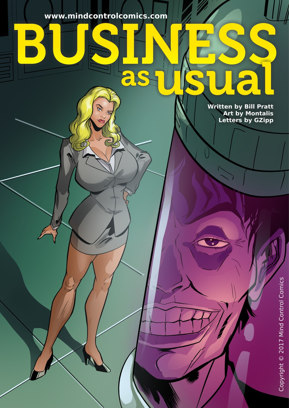 Business as Usual- Mind Control porn comics 8 muses