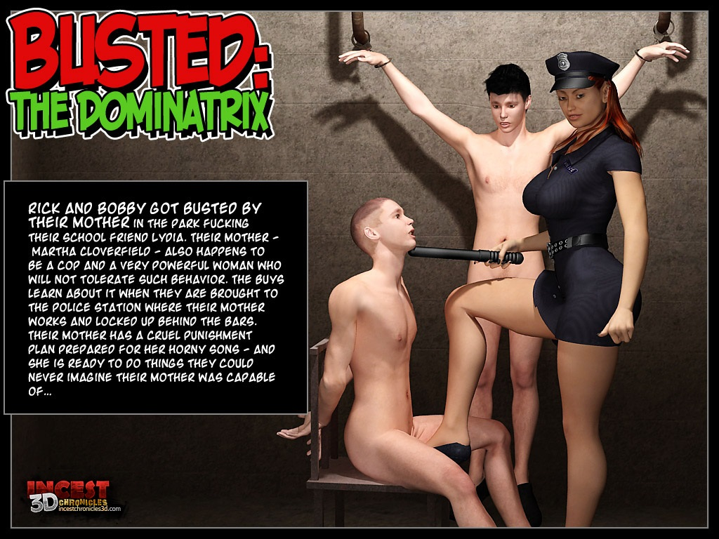 Busted- The Dominatrix porn comics 8 muses
