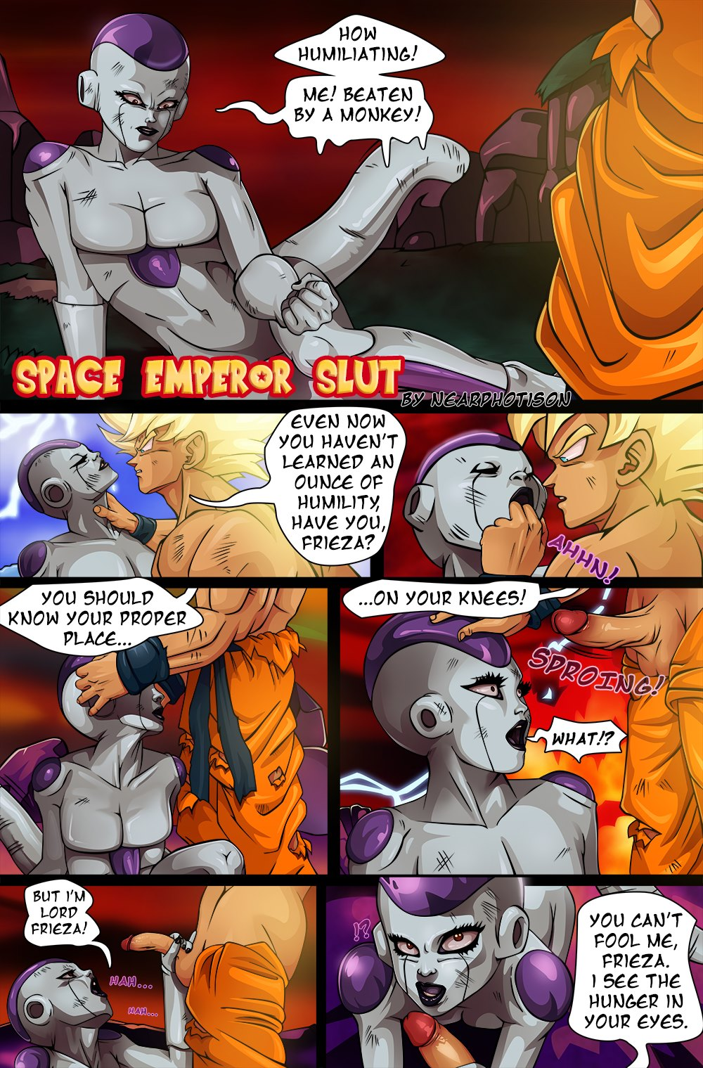 DBZ – Space Emperor Slut- Nearphotison image 1