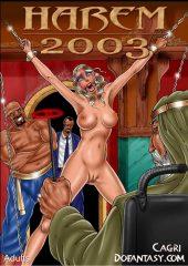 Cagri – Harem 2003- Fansadox 20 porn comics 8 muses
