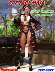 Captain Maia & The Goblin Treasure- Redrobot3D porn comics 8 muses
