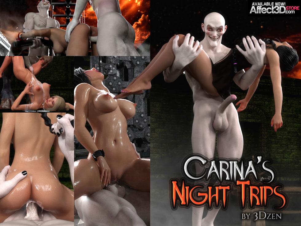 Carina's Night Trips- 3DZen porn comics 8 muses