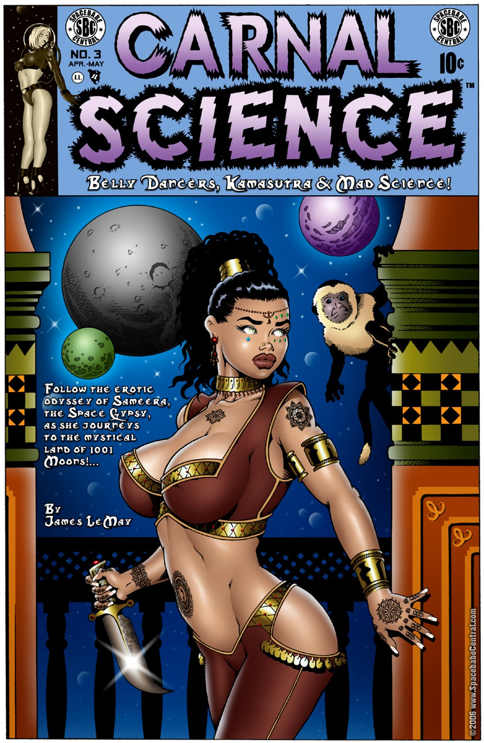James Lemay- Carnal Science 3 porn comics 8 muses