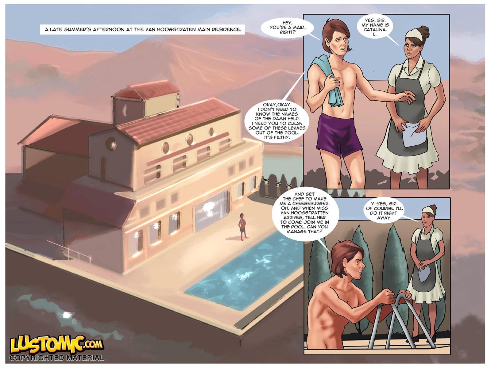 Catwalker- Lustomic porn comics 8 muses