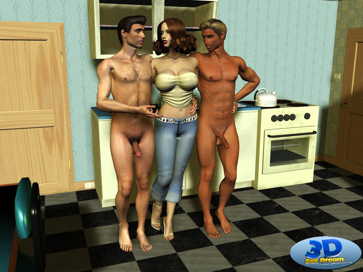 Cheating Housewife- 3dsexdream porn comics 8 muses