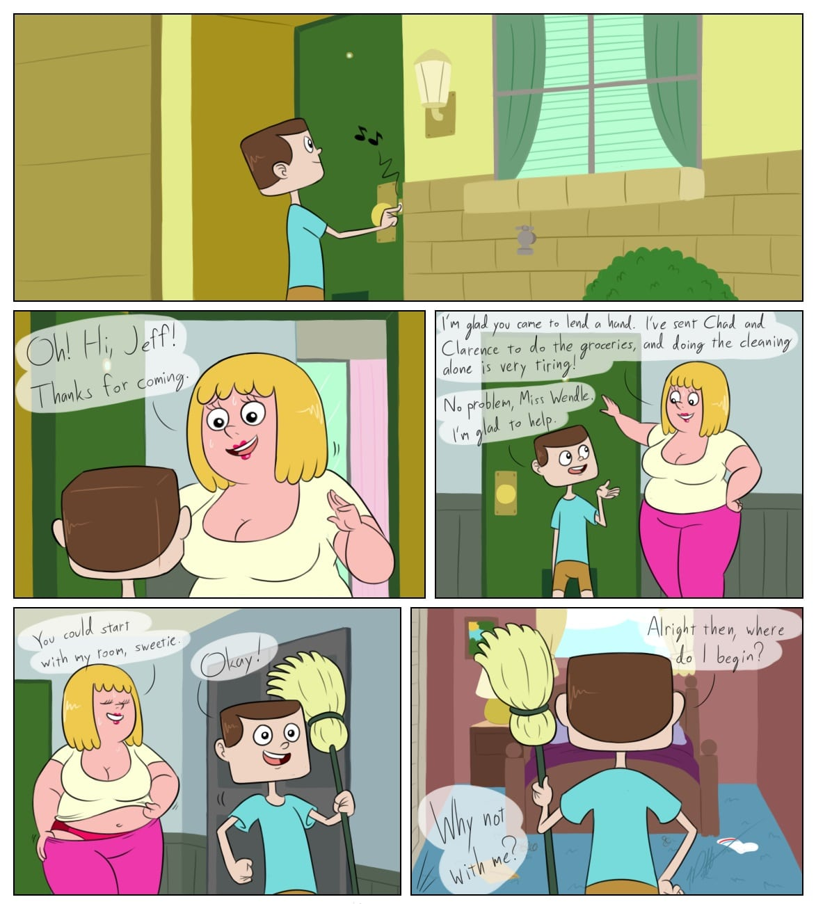 Clarence – Dirty Cleaning image 1