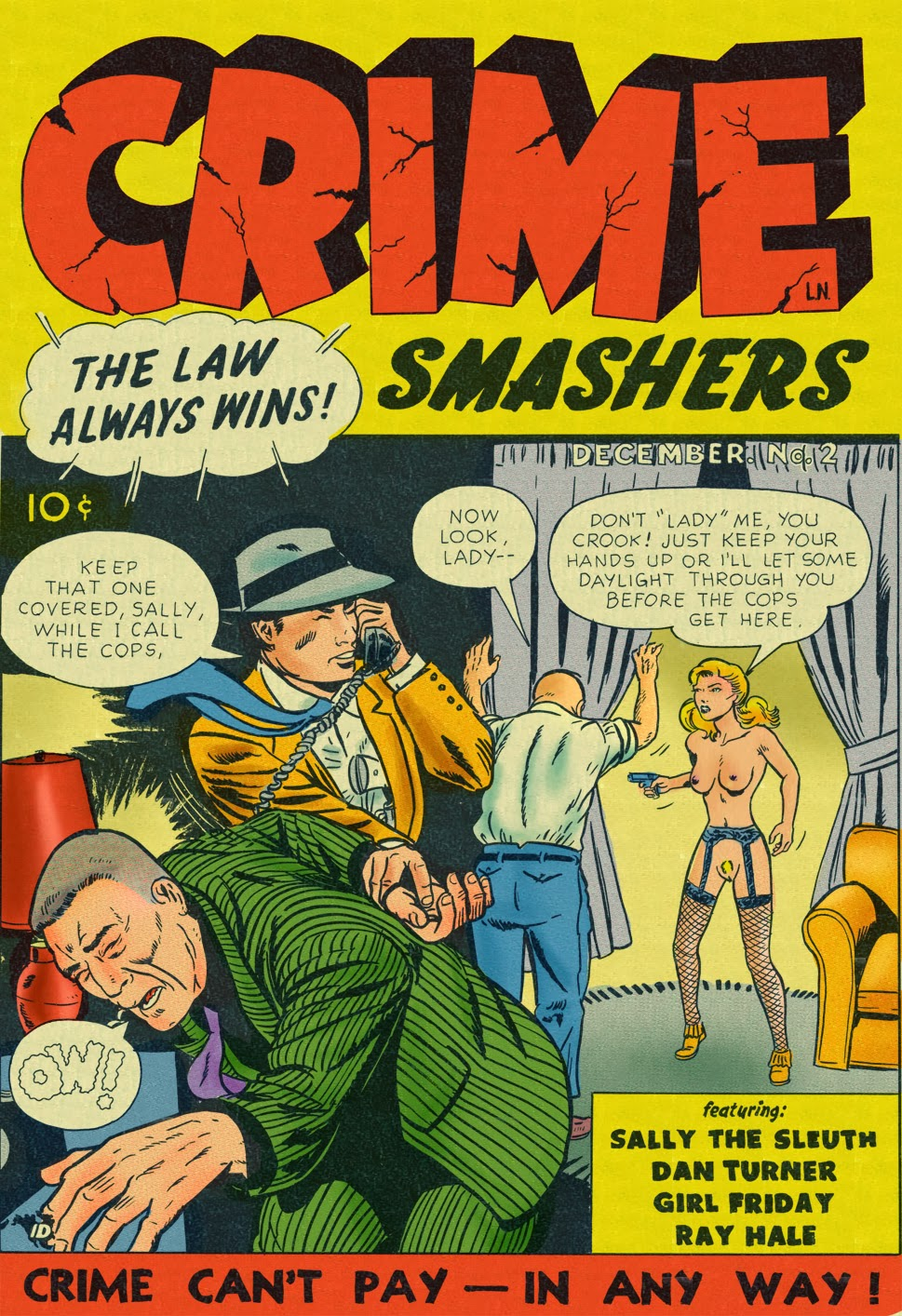 Crime Smashers! 2- The Wertham Files porn comics 8 muses