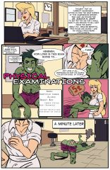 Crossover- Physical Examinations porn comics 8 muses