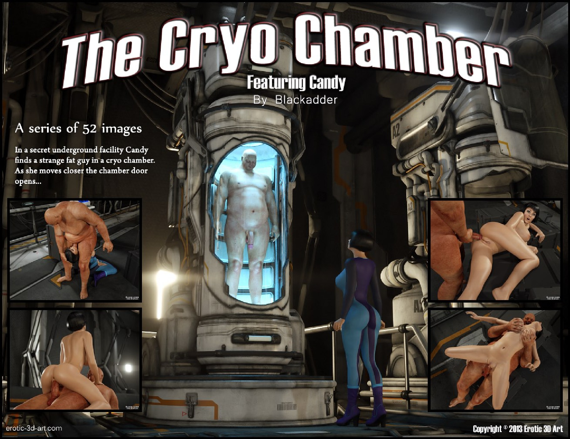 The Cryo Chamber-Blackadder porn comics 8 muses